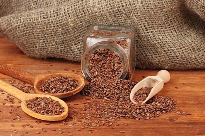 Обработка семян льна